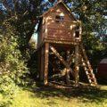 Bau eines Stelzenhauses – Foto 2