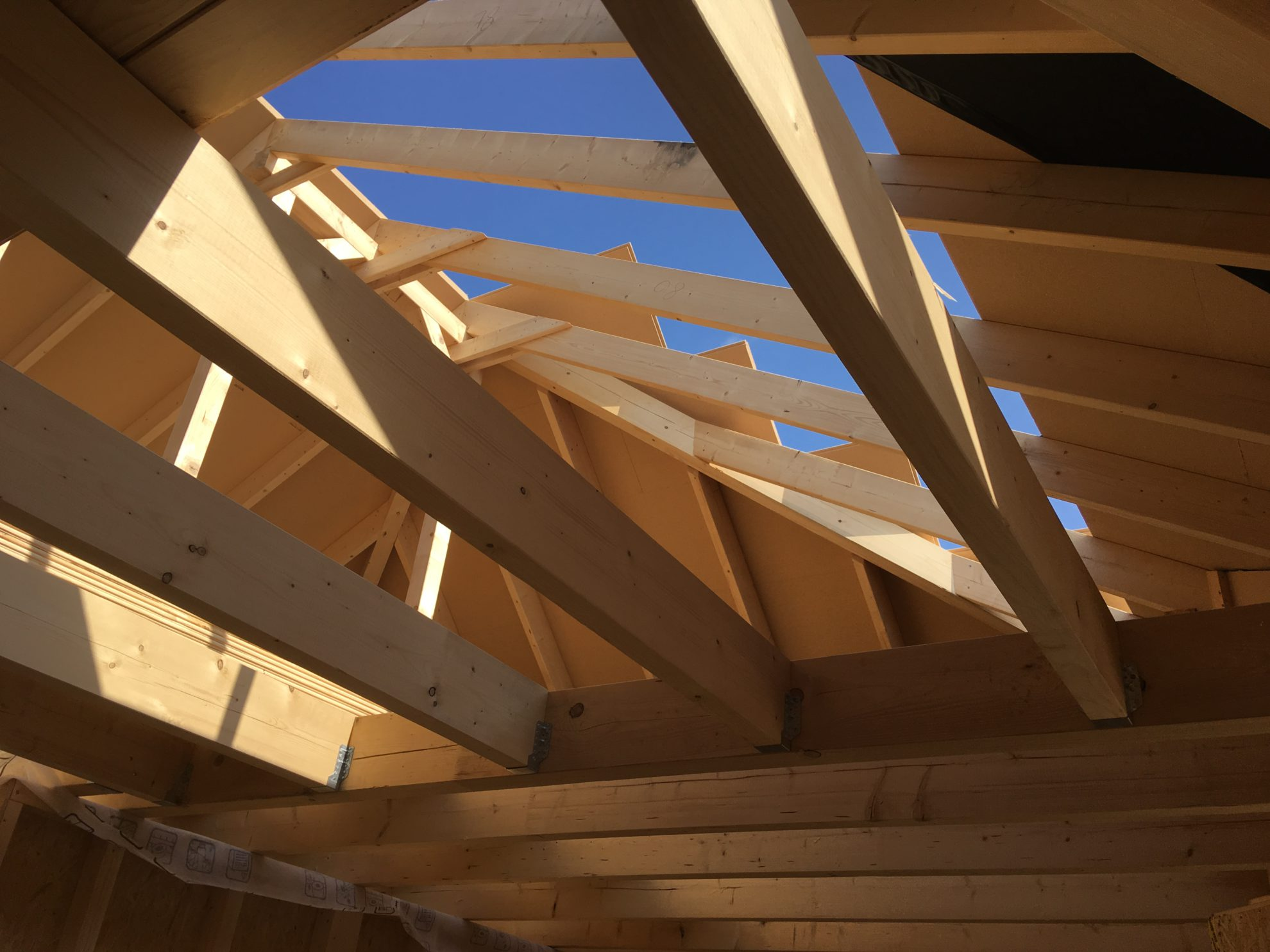 Dachstuhl und Balkenlage – Foto 1