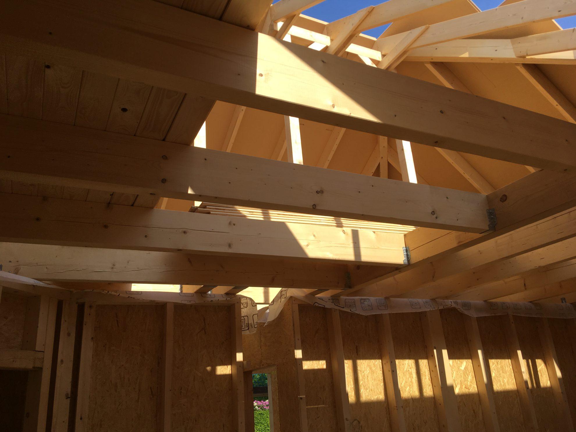 Dachstuhl und Balkenlage – Foto 2