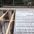 Herstellung einer Betondecke – Foto 1