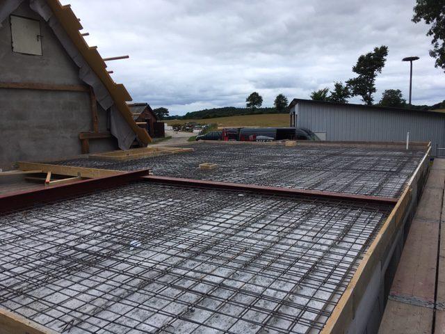 Herstellung einer Betondecke – Foto 2